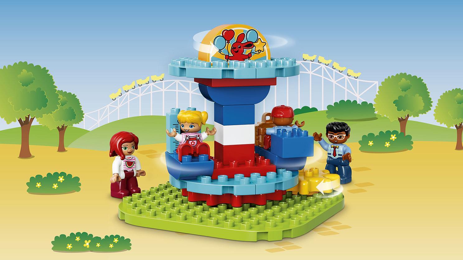 Lego Duplo Lego Town Wesołe Miasteczko